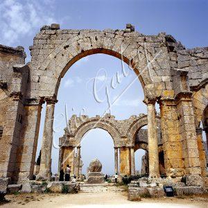 Saint Simeon dans la région d'Alep