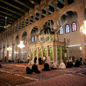 Tombe de Saint Jean le Baptiste à la Mosquée des Omeyyades à  Damas