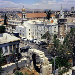 Le centre de Damas