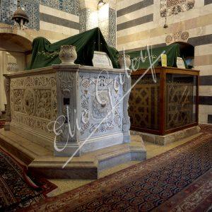 Tombe de Saladin à la Mosquée Omeyyades à Damas