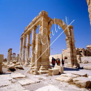 Sanctuaire de Nabu, Citadelle de Zenobie