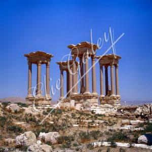Tetrapyle, Citadelle de Zenobie