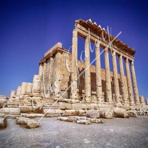 Sanctuaire de Baal (Bel), Citadelle de Zenobie