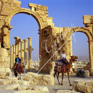 Arc de Triomphe, Citadelle de Zenobie