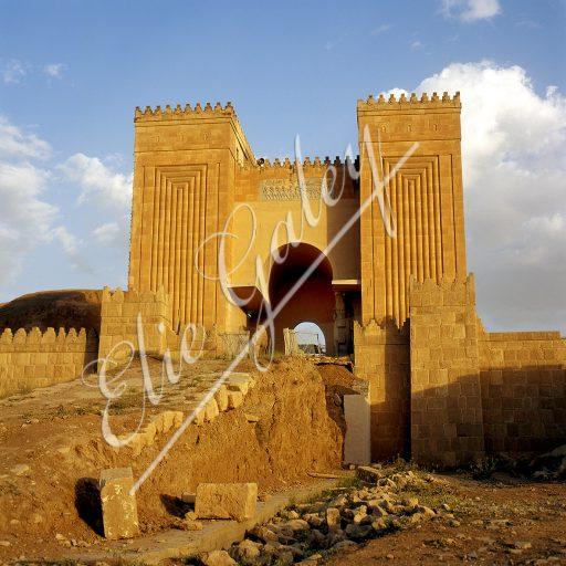 Porte de Nergal Muraille de Ninive