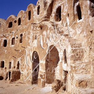 GRENIER FORTIFIÉ; QASR EL HAJ; LIBYE