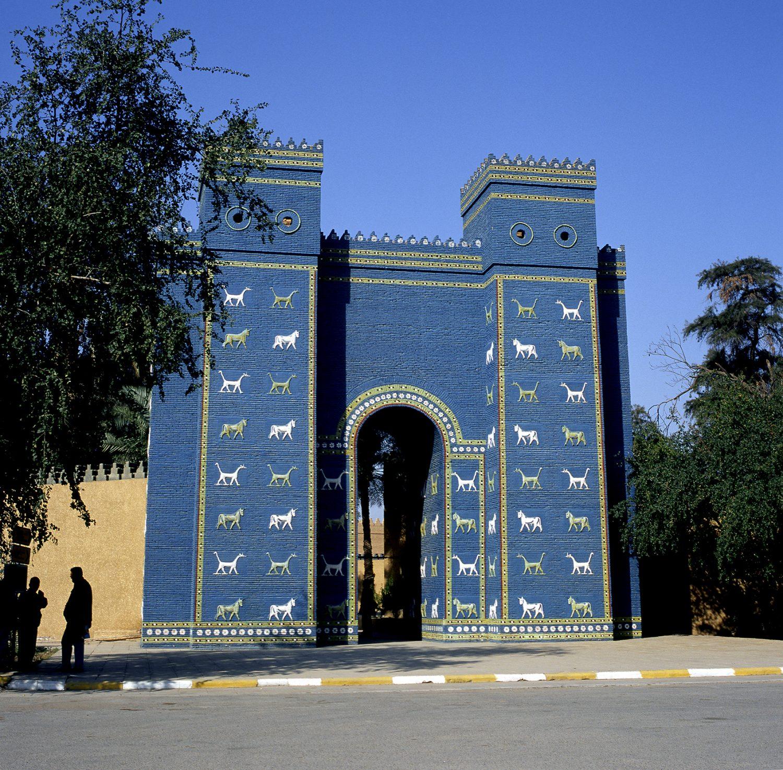 Porte d'Ishtar Babylone