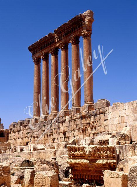 LIBAN-BAALBECK Temple de Jupiter