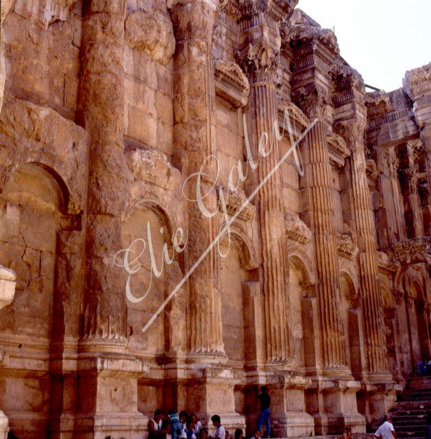 LIBAN-BAALBECK Temple de Baccus