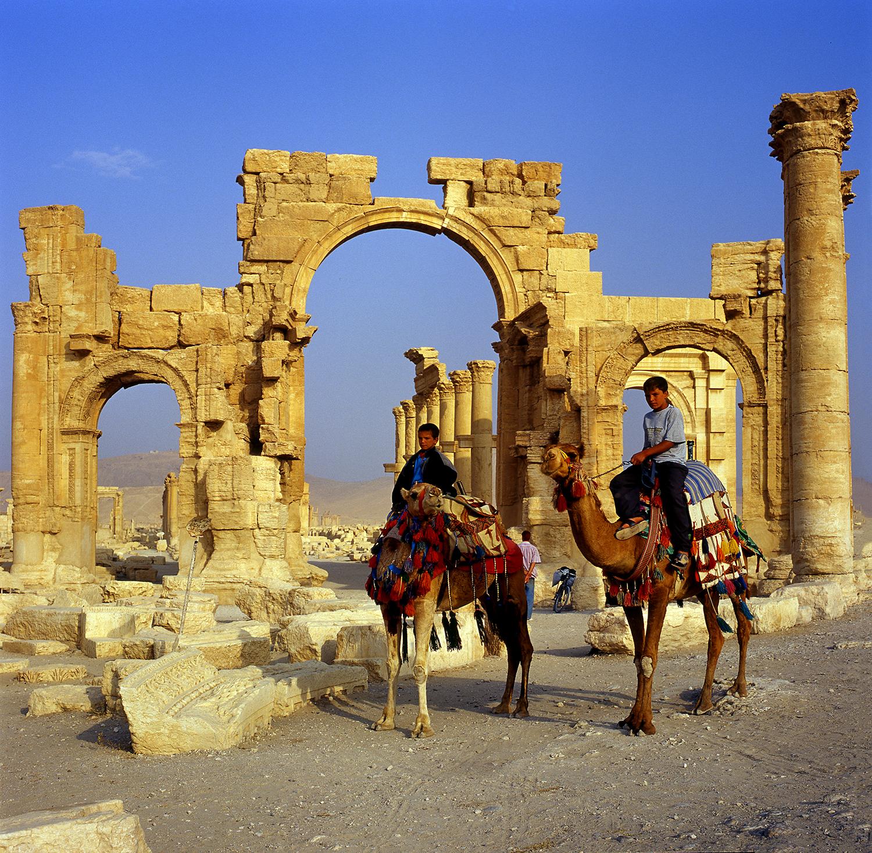 Arc de Triomphe de Palmyre, Citadelle de Zenoubie